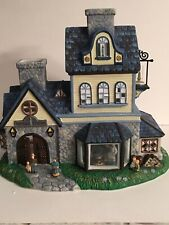 "Party Lite Old World Village #1 Candle Shoppe. 11""L x 9.5""H x 6""W. New"