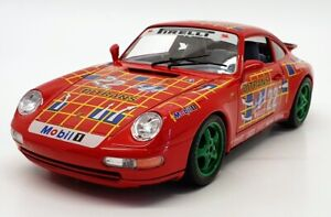 Burago 1/18 Scale Diecast 3050 Porsche 911 Carrera 1993 Racing #22 Model Car