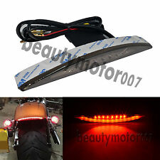 Rear Smoke Fender Tip Brake Tail Light LED For Harley Breakout FXSB 2013-2017