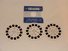 VIEW-MASTER REELS ON NEW YORK - 156, 157, 158