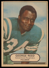 1968 OPC POSTER 5X7 INSERTS CFL FOOTBALL GEORGE REED EX Saskatchewan Roughriders