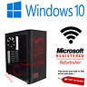 GAMING PC Intel i7 3.4 Ghz New 240 SDD 2TB HDD 32GB RAM 4GB GTX 1650 Windows 10