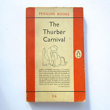 Vintage Penguin Paperback THE THURBER CARNIVAL James Thurber 871 reprinted 1956