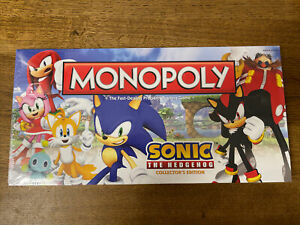 Monopoly Sonic The Hedgehog Collectors Edition *Brand New Sealed*