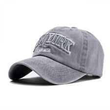 aa755617e088c Fashion Unisex Baseball Cap Men Adjustable Denim Distressed Trucker  Snapback Hat