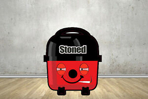 Stoned Face Replacement Stickers Fits Henry Hoover Parts Bags Tools Accessories