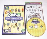 The Sims 2 Mansion & Garden Stuff PC Game Expansion Pack 2008 Complete