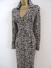 Size UK 12 Karen Millen 93% Seda Camisa con cinturón vestido