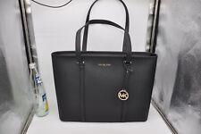 Michael Kors-Tasche-Shopper-SADY-Jet Set-Item-Handtasche-Leder-MK-Anhänger-NEU