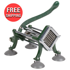 French Fry Cutter Potato Slicer Dicer 38 Kitchen Cooking Cutter W Suction Feet