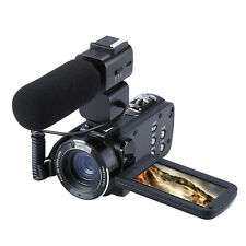 ORDRO 3'' LCD HD 1080P 24MP 16X Digital Zoom WiFi Video Camcorder Camera+Tripod