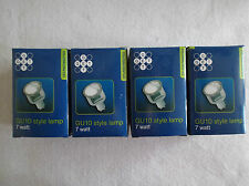 DEAL OF 4! GU10 STYLE 7W LAMPS - 2700K WARM WHITE by GET