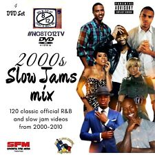 2000s Slow Jams #No8to12TV DVD set.. 120 classic video from 2000s era.. 4 discs