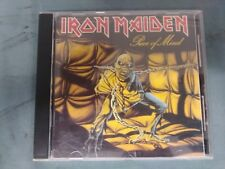 IRON MAIDEN PIECE OF MIND (CD, 1983) CAPITOL EMI RECORDS 80S HEAVY METAL ROCK AC