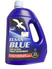 Elsan Blue Fluid 4L Toilet Chemical Caravan/Motorhome