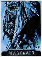 Warcraft Sketch Card CHRIS HENDERSON 1/1 Artist Proof A