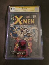 X-men 25 Cgc Signature Series Roy Thomas first appearance of El Tigre 6.5