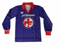 Rare Original Fiorentina Home 1981/82 Long Sleeve Football Shirt and pants XS