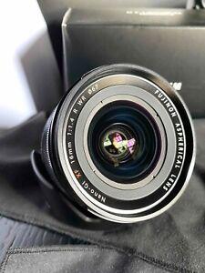 Fujinon 16mm  XF R f1.4 WR for Fujifilm X Mount