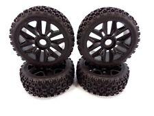 NEW Arrma Typhon 4x4 3s / 6s BLX dBoots 2-HO Tires & Black 17mm Wheels