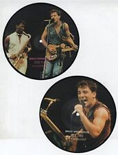 """Bruce Springsteen, Interviews, NEW Ltd edition double PICTURE DISC 7"""" single set"""