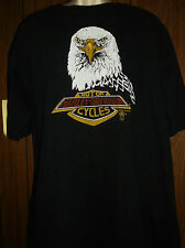 True Vintage 1987 Harley Davidson T Shirt Motorcycle X-LARGE holoubek Shield
