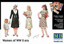 Mas35148 Masterbox 1:35 - le donne della seconda guerra mondiale era