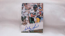 2002 Press Pass Ashley Lelie Autograph Card  Box 30