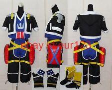 "Kingdom Hearts 2 ""Sora"" Cosplay Costume Custom"