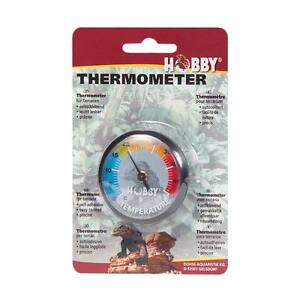 Hobby Thermomètre - Terrarium Reptiles Lézards Serpents, Auto-Adhésif