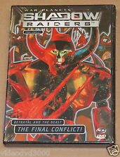 Shadow Raiders: Final Conflict Vol. 6 (DVD, 2001) War Planets Alliance BRAND NEW