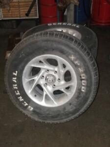Alufelge Ganzjahresreifen EIN STÜCK Chevrolet GMC Pick Up