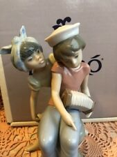 Lladro 6144 Caribbean Kiss Retired! Mint Condition! Original Grey Box! RARE!