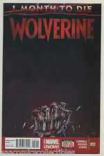 Wolverine #12 2014 One Month To Die Final Issue Paul Cornell Pete Woods Marvel