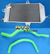 FOR ATV YAMAHA banshee YFZ350 YFZ 350 oversized Aluminum Radiator & BLUE HOSE