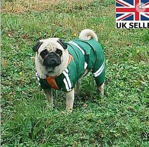 London Luxury Waterproof Bodysuit With Hood Rain Coat Winter Pet Dog Clothes
