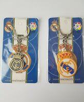 Real Madrid Keyring Keychain Metal and PVC Football Xmas Stocking Filler