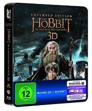 Der Hobbit: Teil 3 - Extended [3D Blu-ray](Limitierte Steelbook Edi)(NEU/OVP)