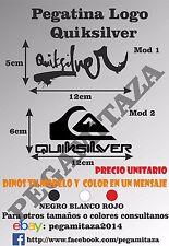 Pegatina Quiksilver Sticker Vinilo adhesivo surf, skate snowboard, coche, tablas