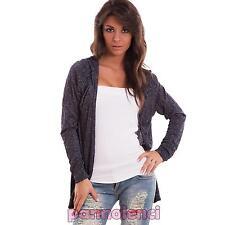 Cardigan woman bolero shrug dust coat lurex long sleeves new AS-6475