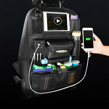 Quality Car Seat Back Travel Multifunction Stowing Tidying Pocket w/ 4 USB Port