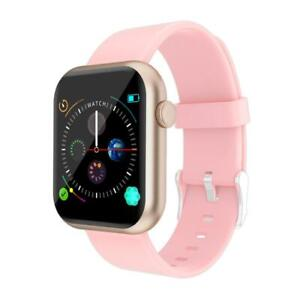 COLMI P9 Smart Watch - Bluetooth, Heart Rate, Blood Pressure, FT - Gold & Pink