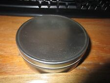 (1) 8 OZ Round Snuff Survival Crafts Storage Tin Can With Lid Container NEW