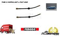 8430 COPPIA TUBI FRENO ANTERIORE SX+DX AUTOBIANCHI Y10