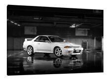 Nissan Skyline R32 GTR 30x20 Inch Canvas - Framed Picture Print Art
