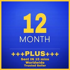 12 MONTH PS PLUS - 1 YEAR OF PLUS ( NO CODE - TRUSTED SELLER - RAPID )