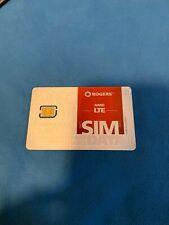 Rogers wireless  LTE nano sim card