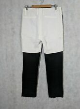 Odyn Vovk SS 09 Double Layer Linen Pants Size 30