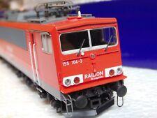"62621 Roco  BR 155 - RAILION DBAG "" Stromcontainer ""  DSS"