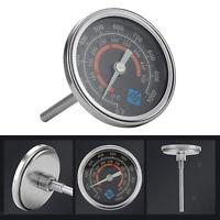 Edelstahl BBQ Raucher Grill Thermometer Temperatur Gauge 50-500 ℃